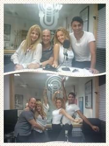 Ana Sierra y Luis Duro bailando con sus divertidos invitados Mavi Aparicio y Golden Boy Yuksel